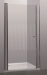 PRIVA vaste wand  - 88-90 x 190 cm -Transparant