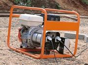 Stroomaggregaat 3,6 kVA 2 x 230V penaarde