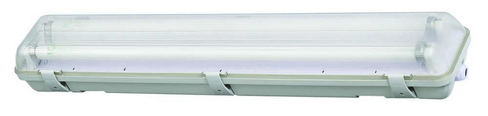 WATERDICHTE ARMATUREN LED TL T8 IP65 2X18W