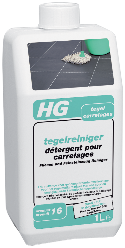 Hg Tegelreiniger (quick) (hg Product 16) 1l