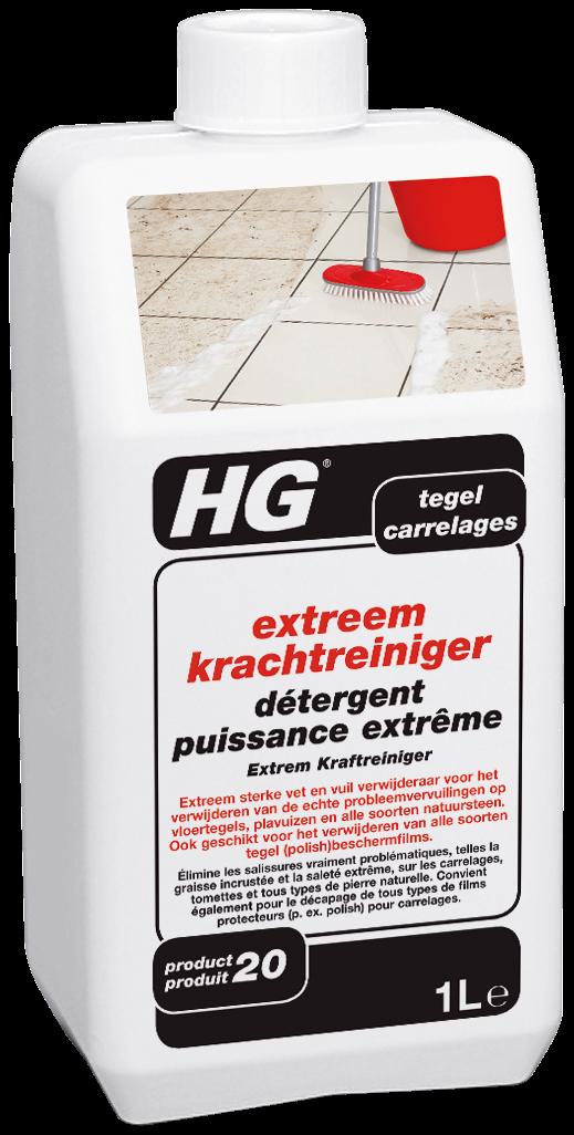 HG extreem krachtreiniger (super remover) (HG product 20) 1L