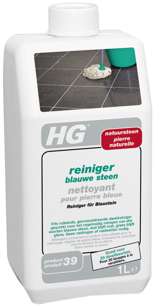 HG reiniger blauwe steen/hardsteen (HG product 39) 1L