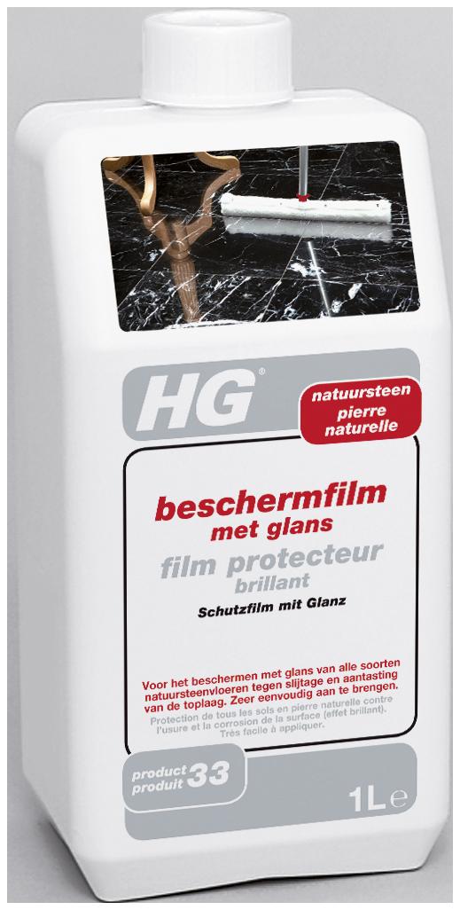 HG natuursteen beschermfilm met glans (shine finish) (HG pro