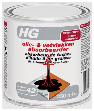 HG natuursteen olie- & vetvlekken absorbeerder (HG product 4