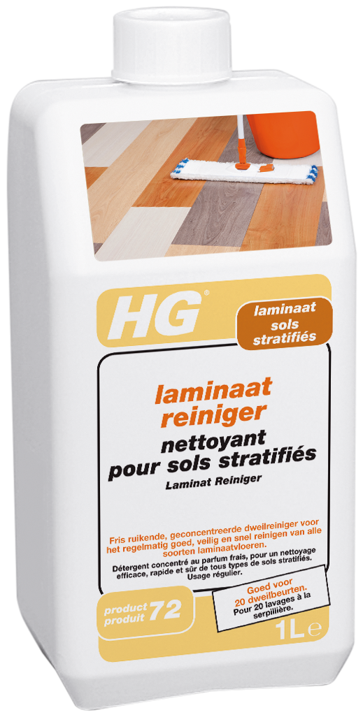 HG laminaat reiniger (HG product 72) 1L