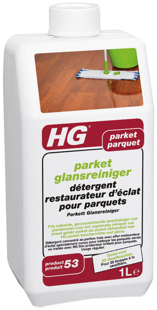 Hg Parket Glansreiniger (wash & Shine) (hg product 53) 1l