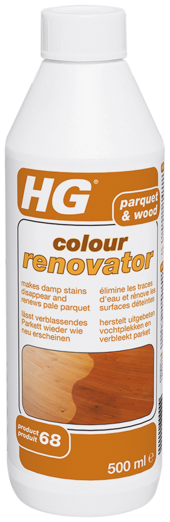 HG parket en hout colour renovator (HG product 68) 500 ml