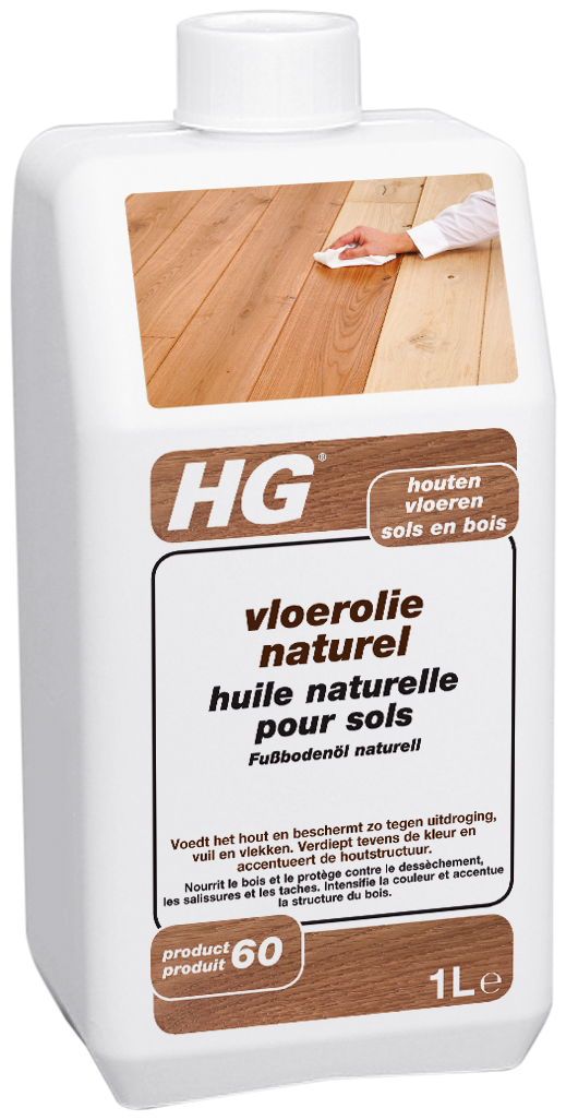 Hg Vloerolie Naturel (hg Product 60) 1l
