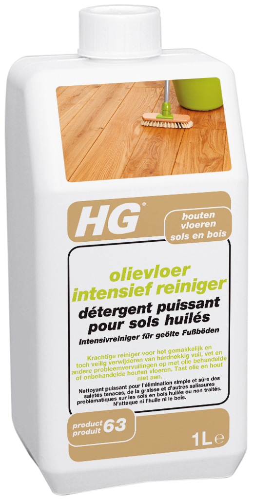 Hg Olievloer Intensief Reiniger (hg product 63) 1l