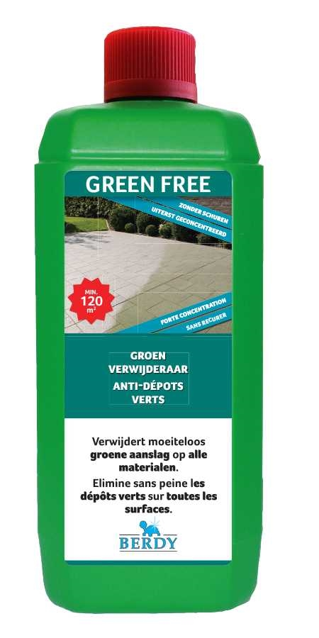Berdy Outdoor Green Free 1 L