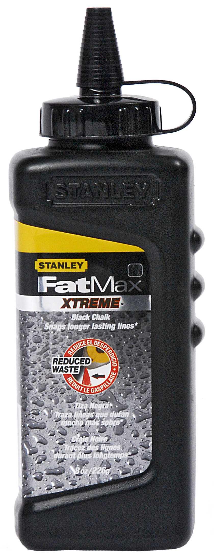 FatMax Pro Slaglijnpoeder - zwart