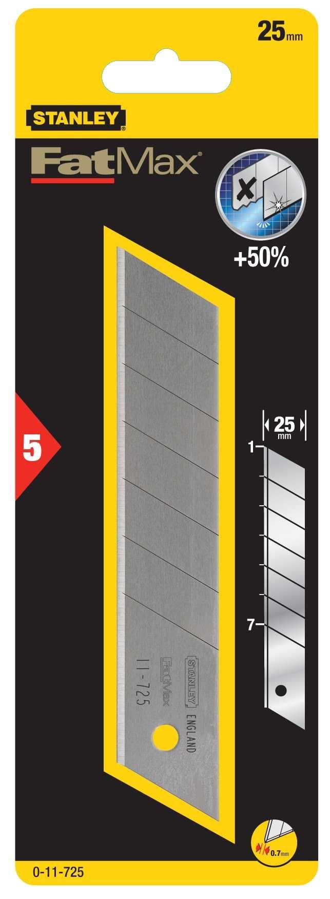 FatMax Reserve Afbreekmes 25mm (5 stuks)