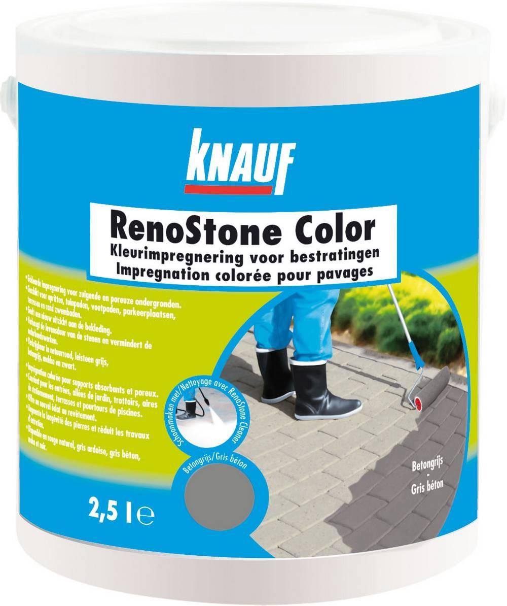 RenoStone Color betongrijs emmer 2,5L (165)
