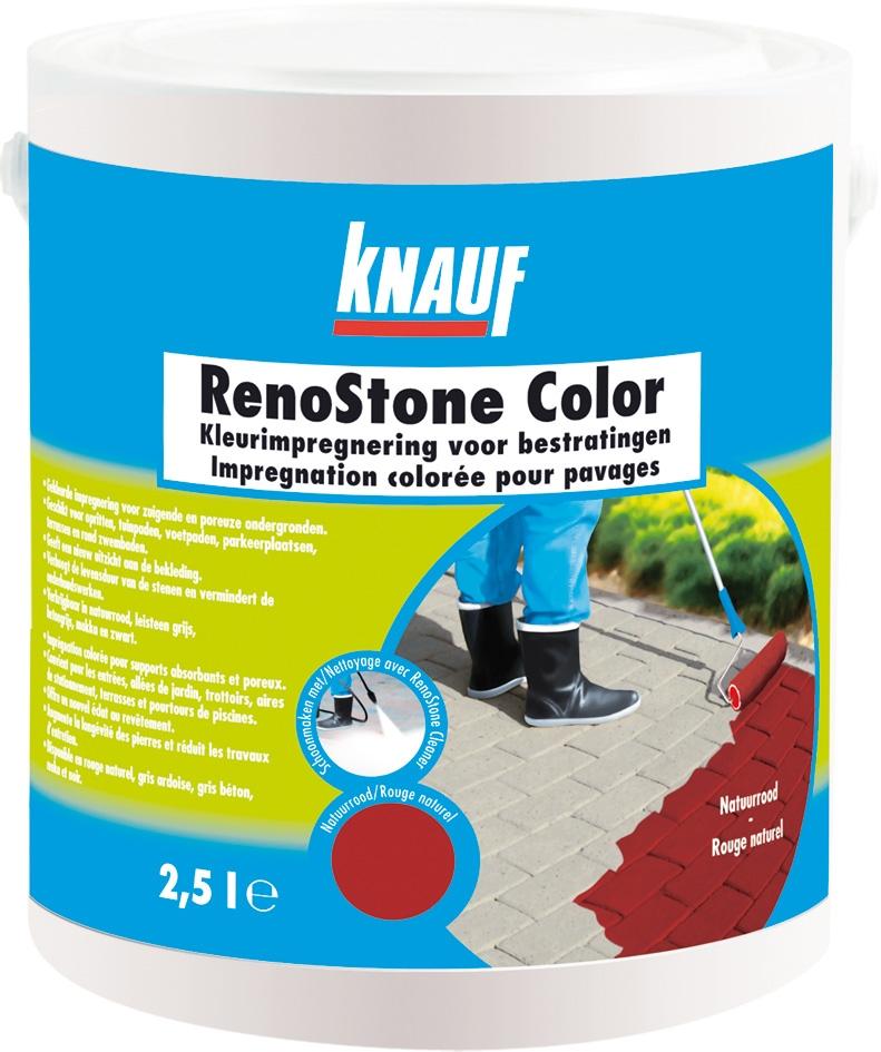 RenoStone Color rood emmer 2,5L (165)