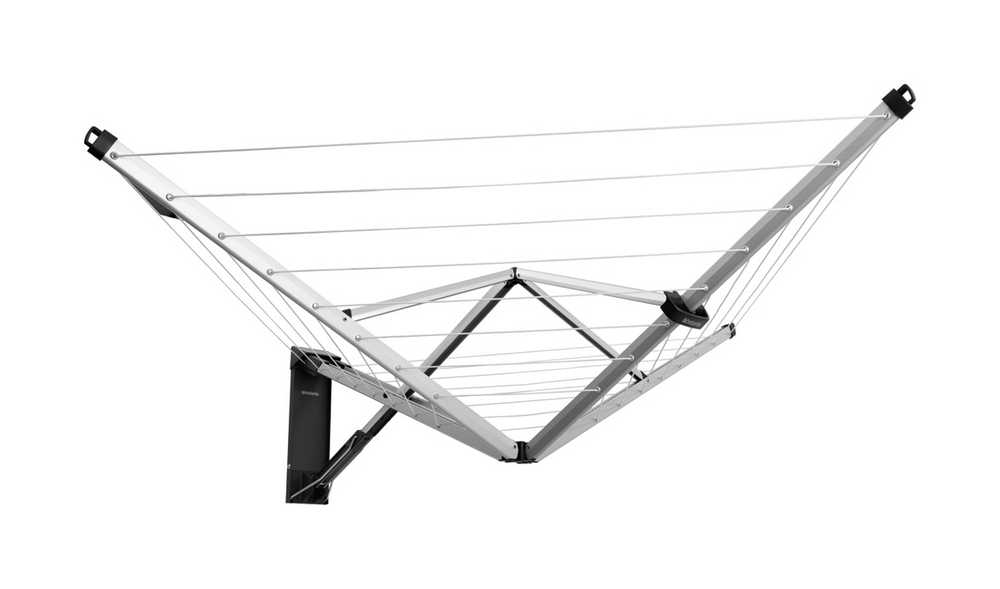 WallFix wanddroger 24 meter Met beschermhoes - avec housse d