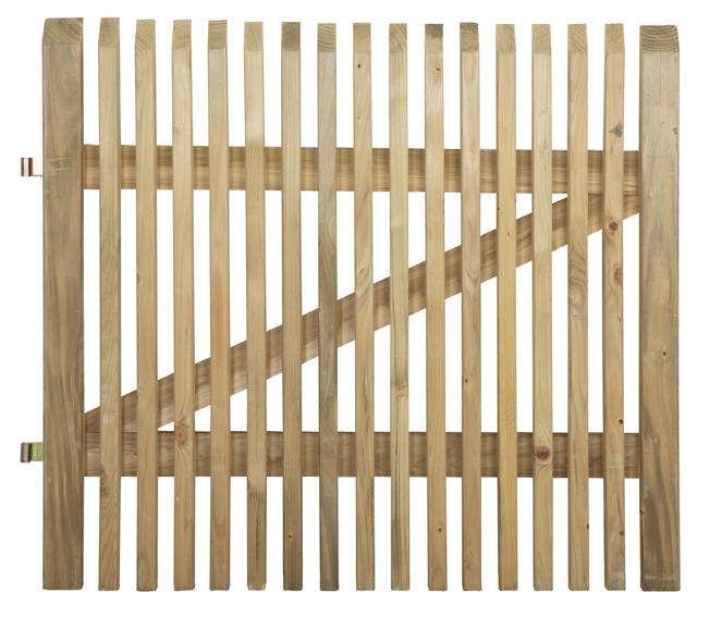 CORDOBA - POORT 900 x 1000 - incl beslag