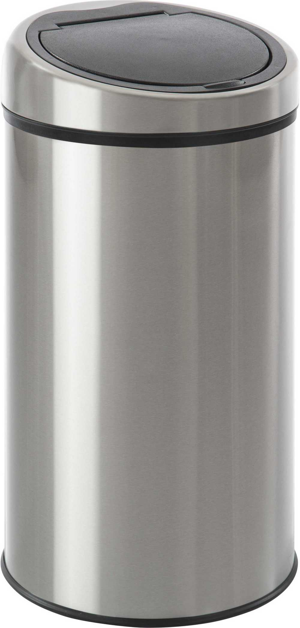 AFVALEMMER MAT INOX 40L PUSH BIN