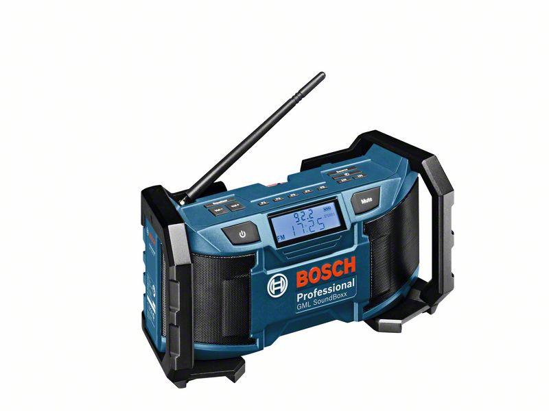 Accu radio GML Soundboxx (Accu en Lader niet meegeleverd, 12