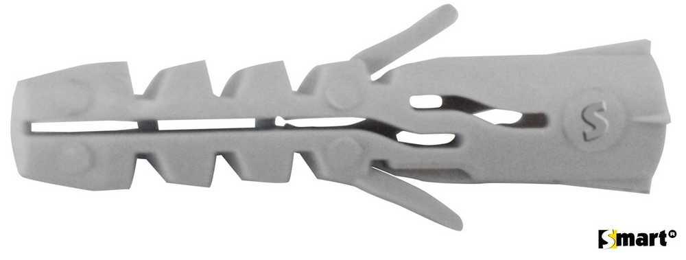 Nylon spreidplug zndr boord SMART Ø8x40 (100)