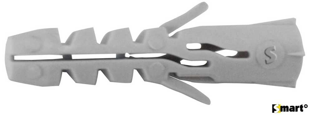 Nylon spreidplug zndr boord SMART Ø12x60 (25)