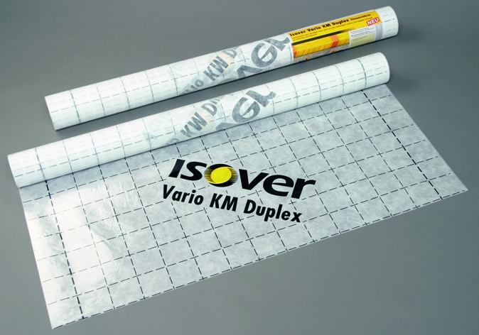 Isover Vario KM Duplex - 40000 x 1500mm - 60m²/rol