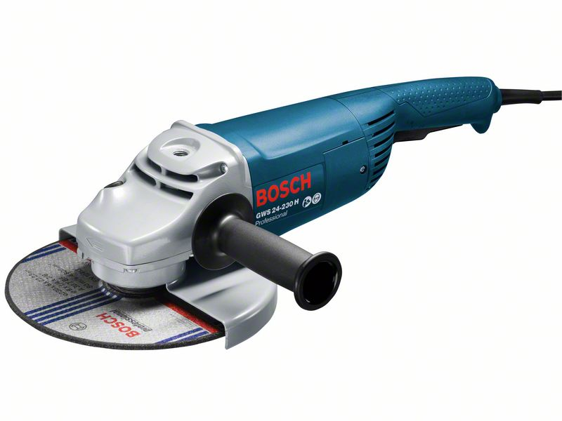 Haakse slijpmachine GWS 24-230 H (DM/HM) (Handgreep vibratio