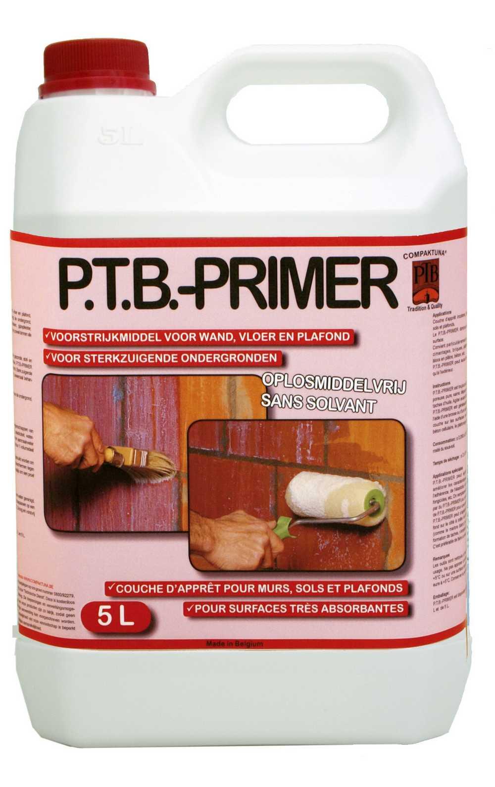 P.t.b.-primer 5liter Kleurloos