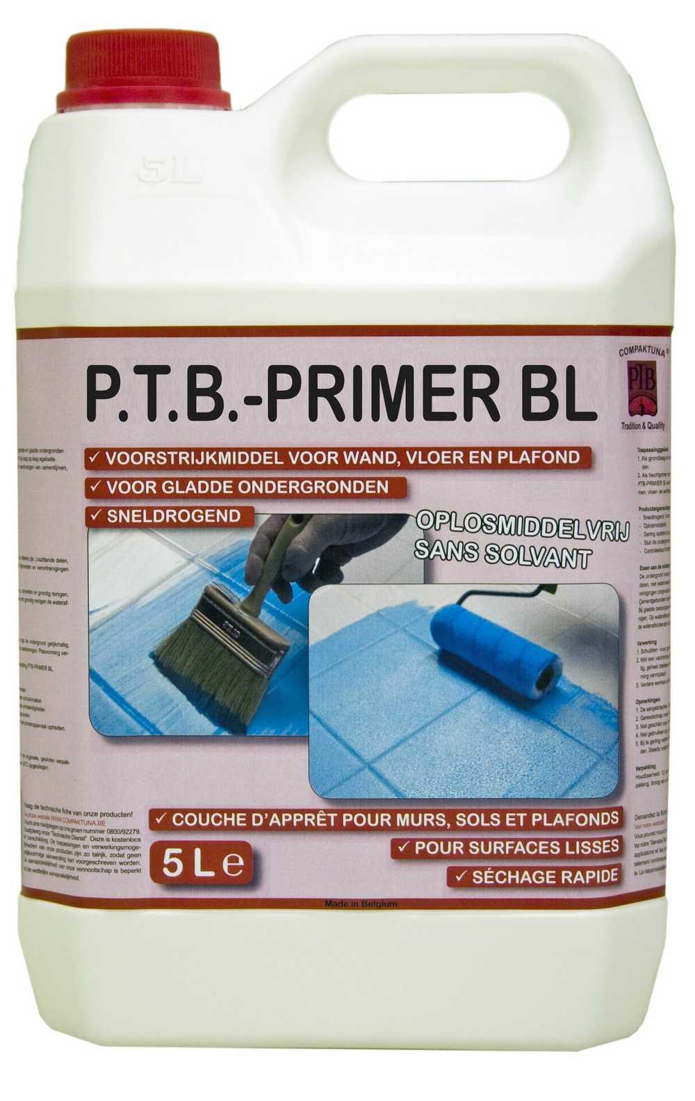 P.t.b.-primer Bl 5liter Lichtblauw