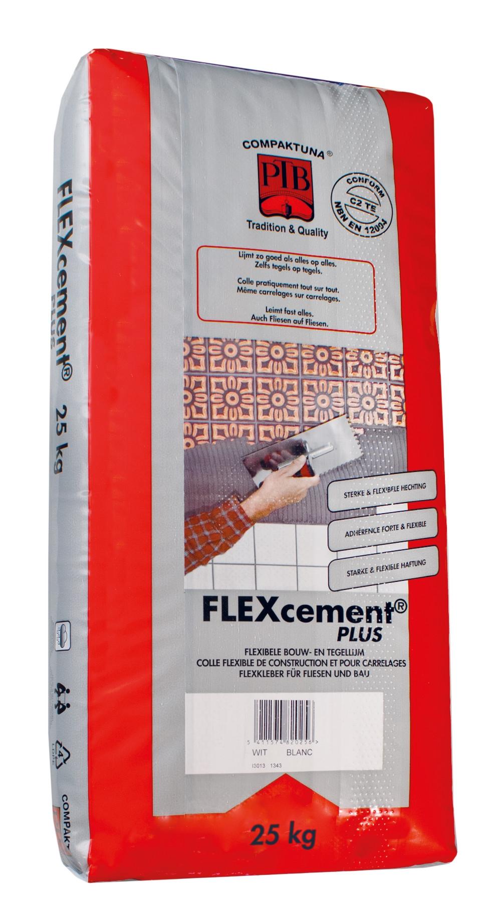 Flexcement PLUS - 25kg - Grijs