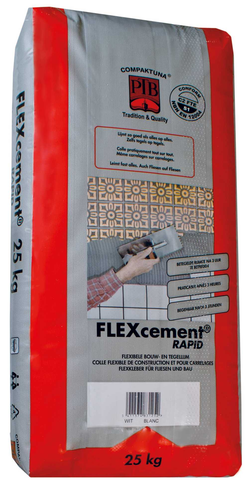 Flexcement RAPID - 25kg - Wit