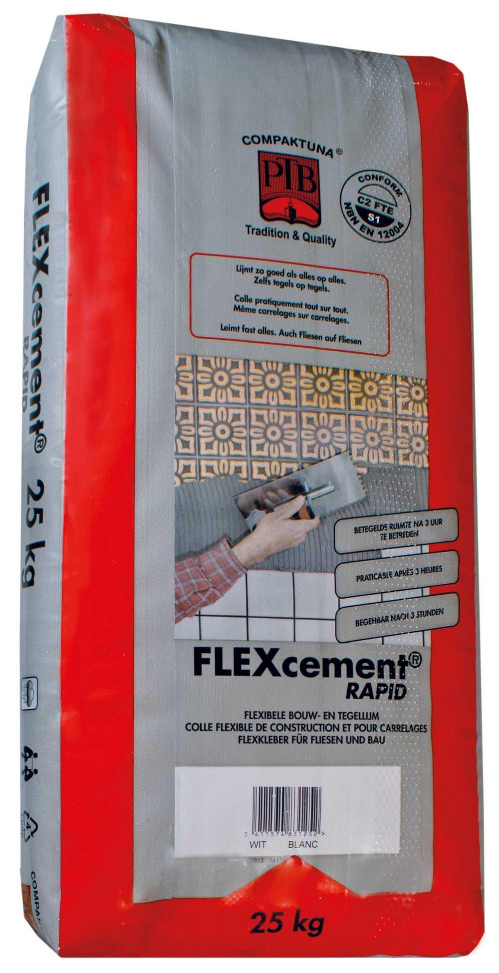 Flexcement RAPID - 5kg - Grijs
