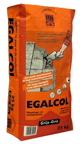 Egalcol - 25kg - Grijs