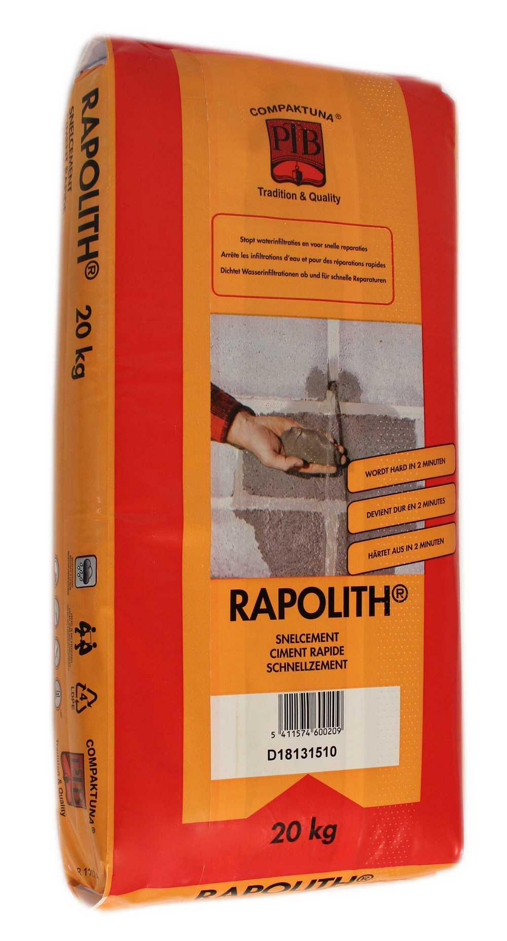 Rapolith - 20kg - Bruingrijs