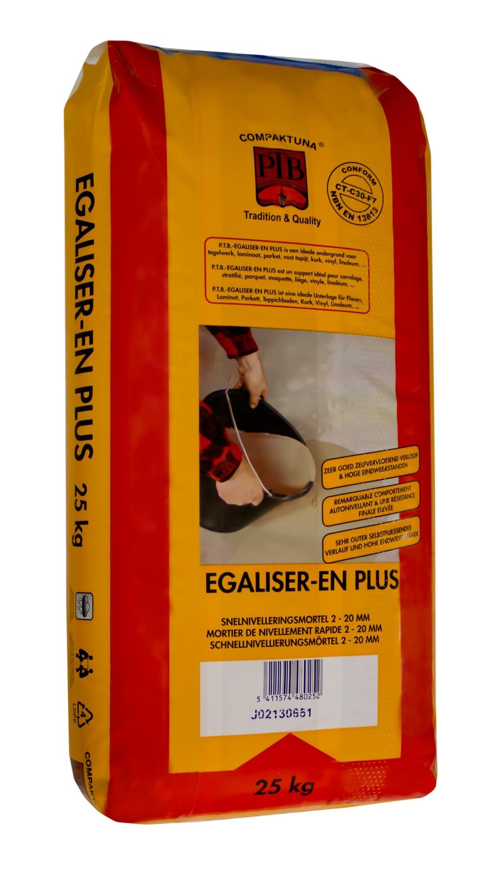 Egaliser-en Plus - 25kg - Bruingrijs