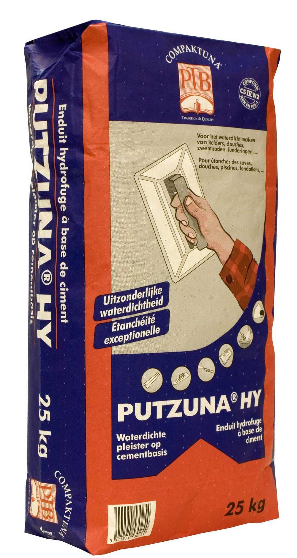 Putzuna Hy - 25kg - Grijs