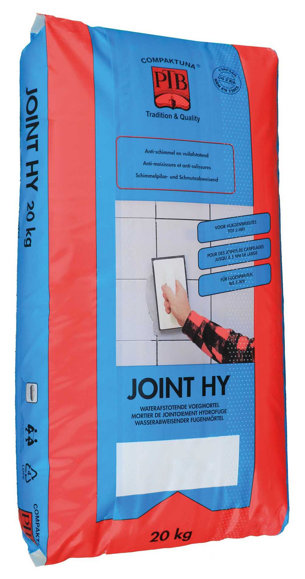 P.t.b.-joint Hy 5kg Antraciet