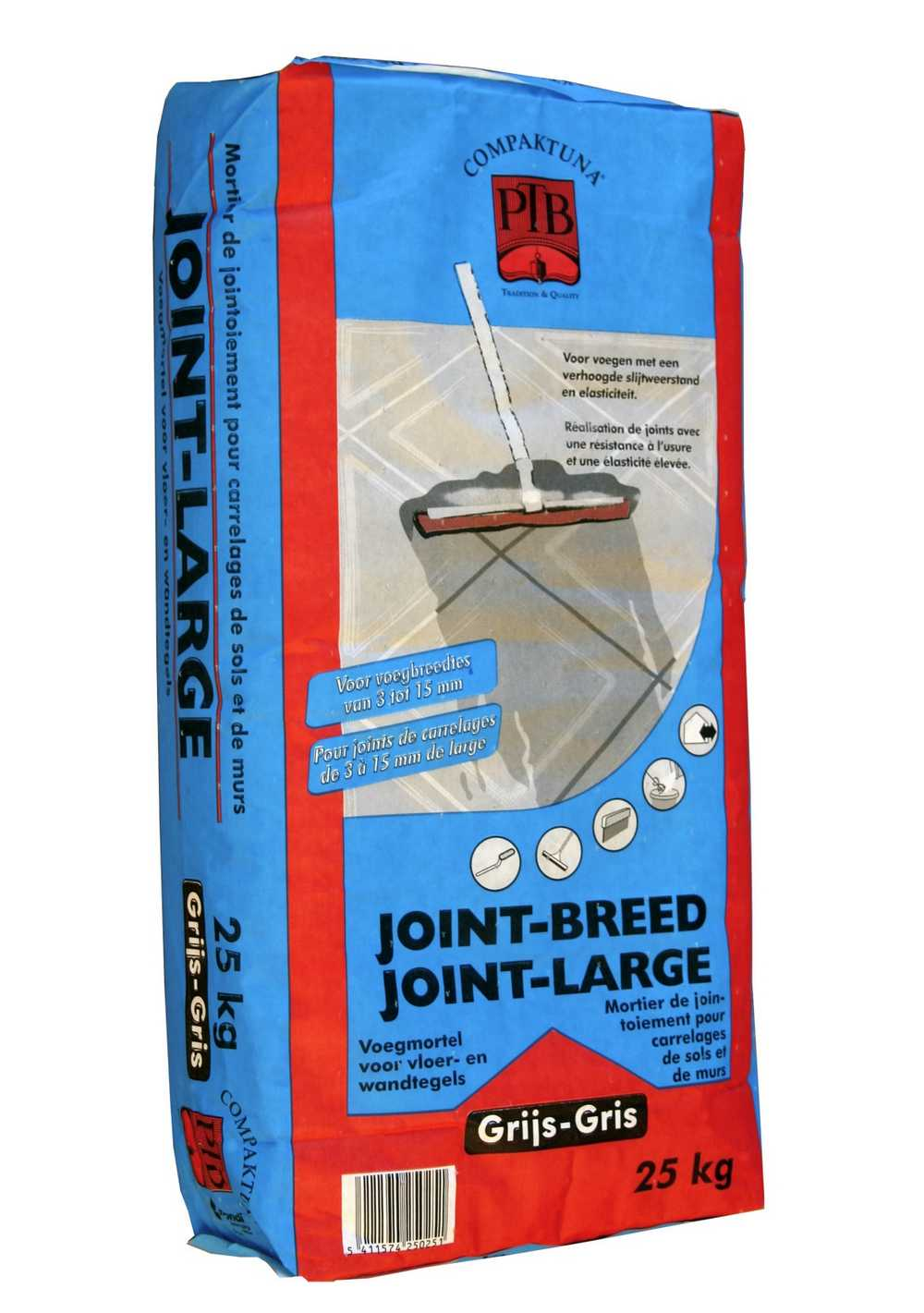 P.t.b.-joint-breed 25kg Zwart