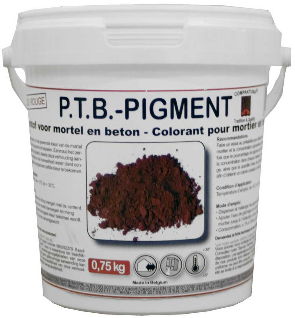 P.t.b.-pigment 0,75kg Zwart