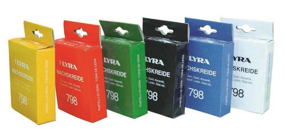 Vetkrijt Lyra 798 Rood (1st)