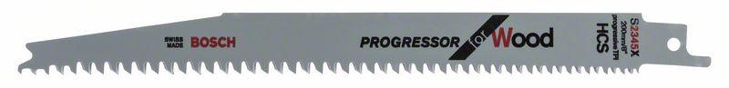 Reciprozaagblad S 2345 X Progressor for Wood 5x