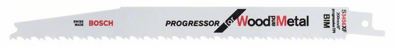 Reciprozaagblad S 3456 XF Progressor for Wood and Metal 5x
