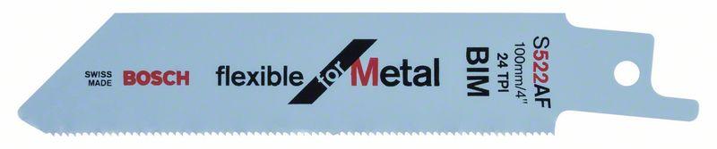 Reciprozaagblad S 522 AF Flexible for Metal 5x
