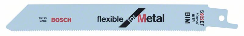 Reciprozaagblad S 922 EF Flexible for Metal 5x