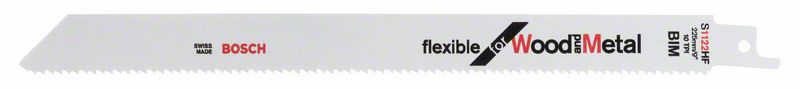 Reciprozaagblad S 1122 HF Flexible for Wood and Metal 5x