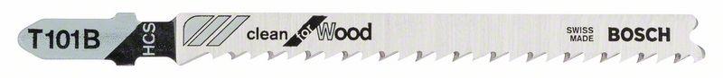Decoupeerzaagblad T101 B Clean for Wood 5x
