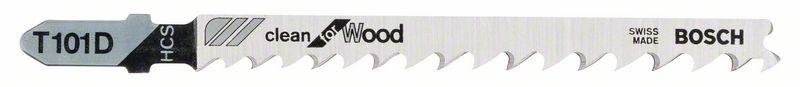 Decoupeerzaagblad T101 D Clean for Wood 5x