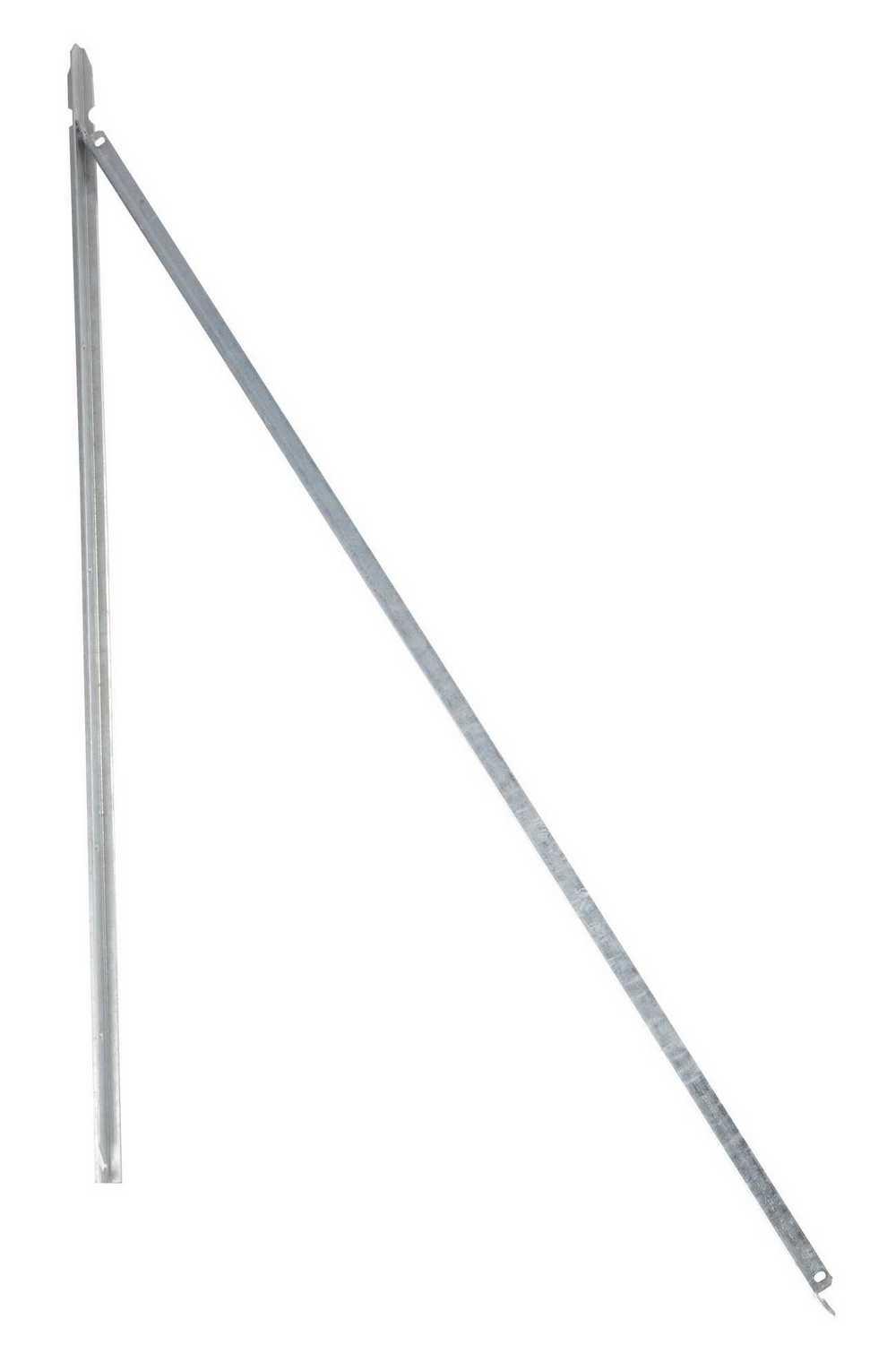 T-paal 145cm x 30x3mm verzinkt