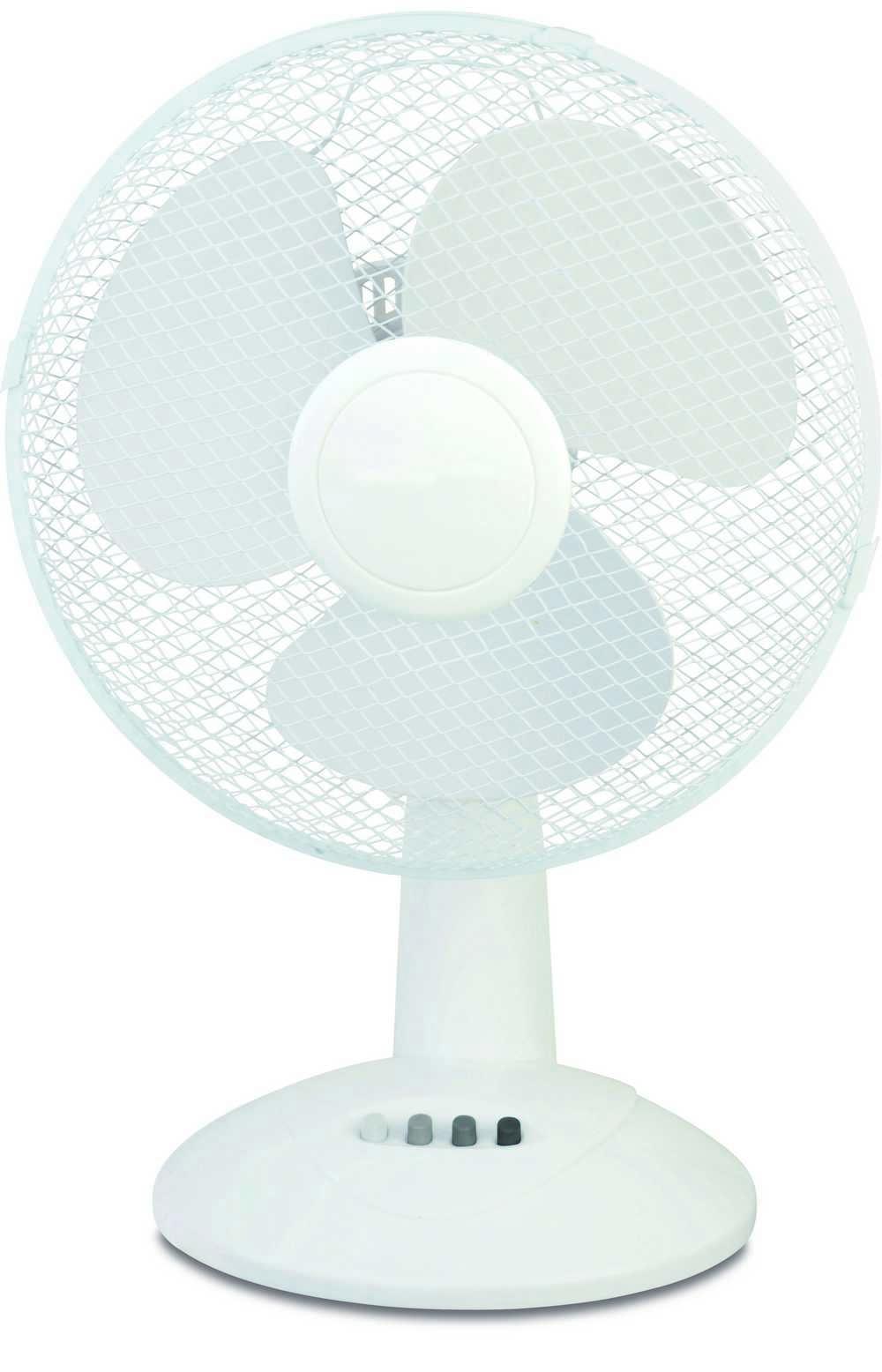 Ventilator tafel 30 cm 3 snelheden wit
