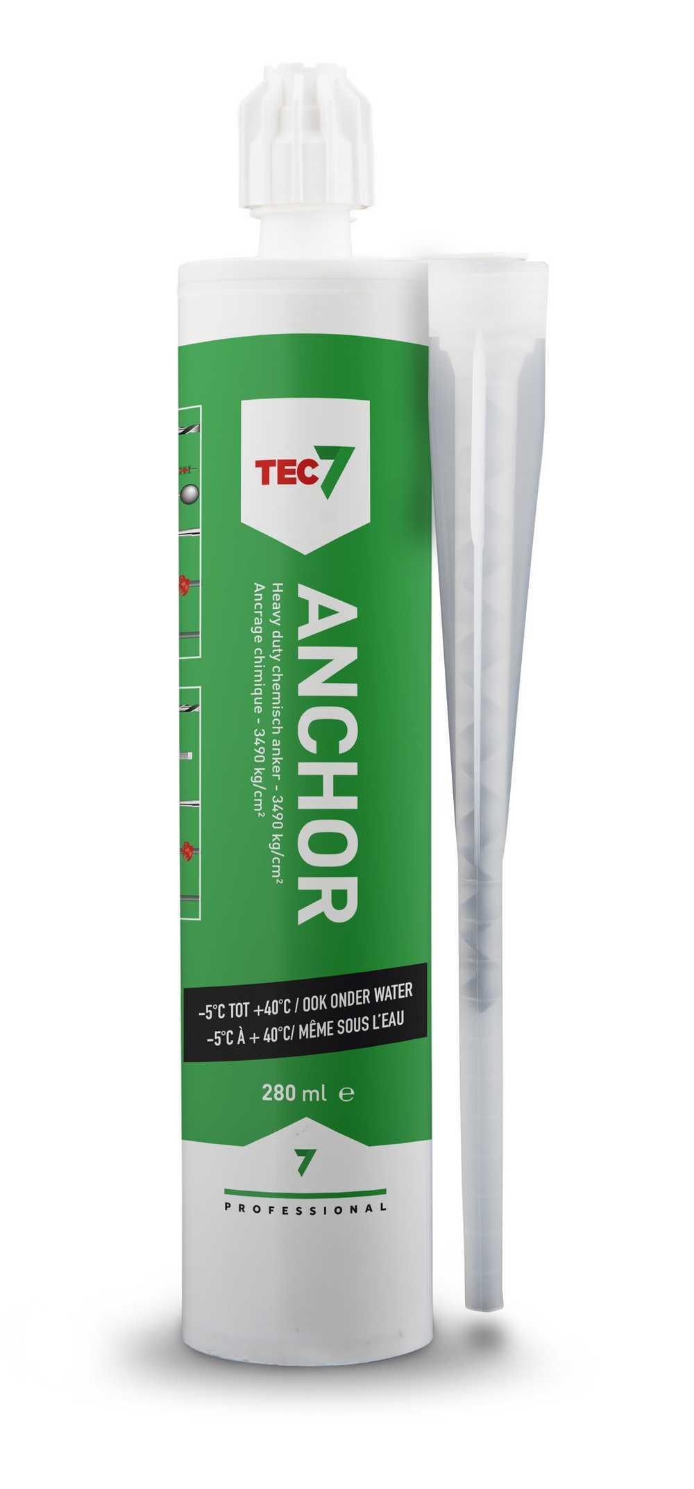 Anchor 7 Chemisch anker patroon 280 ml