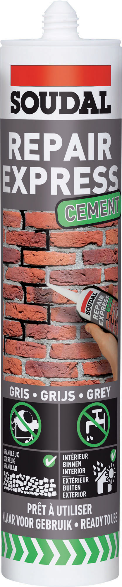 Cement Repair grijs/gris 300 ml